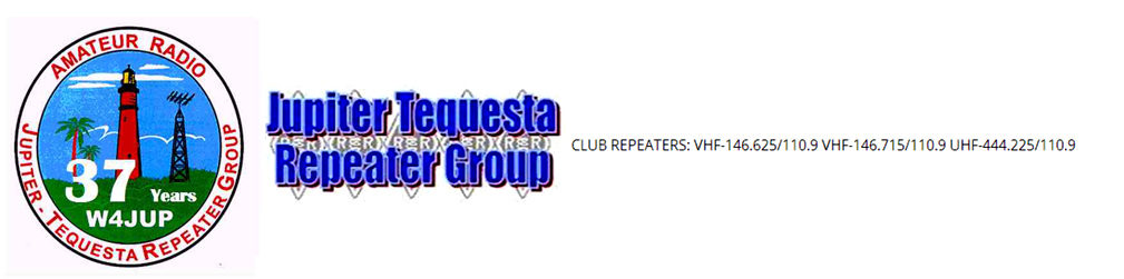 Repeaters and Nets - Jupiter Tequesta Repeater Group